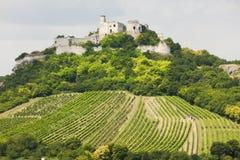 Ruinas del castillo de Falkenstein Fotografía de archivo