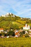 Ruinas del castillo de Falkenstein Foto de archivo libre de regalías