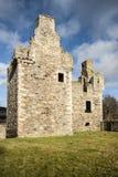 Ruinas del castillo de Glenbuchat en Escocia Fotografía de archivo libre de regalías
