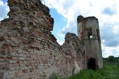 Ruinas del castillo de Golshanskiy Fotos de archivo