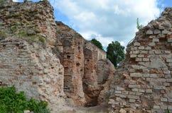 Ruinas del castillo de Golshanskiy Fotos de archivo libres de regalías