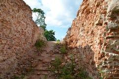 Ruinas del castillo de Golshanskiy Imagenes de archivo