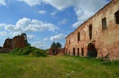 Ruinas del castillo de Golshanskiy Imagen de archivo