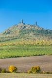 Ruinas del castillo de Hazmburk Imagenes de archivo