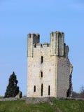 Ruinas del castillo de Helmsley Imagenes de archivo