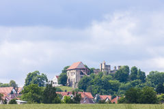 Ruinas del castillo de Kosumberk Fotografía de archivo libre de regalías