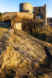 Ruinas del castillo de Krakovec Imagenes de archivo