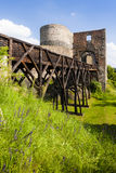 Ruinas del castillo de Krakovec Imagen de archivo