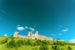 Ruinas del castillo de la orden de Livonian Rakvere, Estonia Imagen de archivo libre de regalías