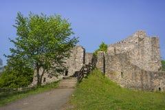Ruinas del castillo de Lowenburg foto de archivo libre de regalías