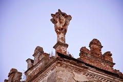 Ruinas del castillo de Medziboz Imagen de archivo libre de regalías
