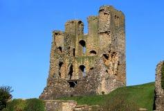 Ruinas del castillo de Scarborough Imagen de archivo libre de regalías