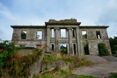 Ruinas del castillo de St John Imagenes de archivo