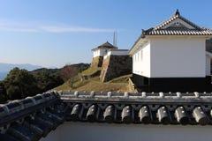 Ruinas del castillo de Tomioka Imágenes de archivo libres de regalías