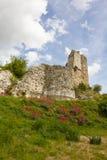 Ruinas del castillo del corazón del león de Richard imagenes de archivo