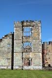 Ruinas del castillo en Midhurst Sussex del oeste Fotografía de archivo libre de regalías