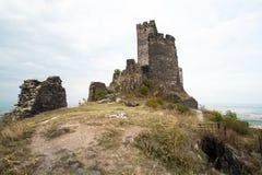 Ruinas del castillo Hasenburg Imagen de archivo libre de regalías