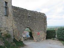 Ruinas del castillo hermoso Fotos de archivo libres de regalías