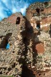 Ruinas del castillo medieval Fotografía de archivo libre de regalías