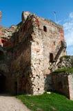 Ruinas del castillo medieval Imagenes de archivo