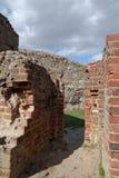Ruinas del castillo, Venecia, Polonia Imagen de archivo