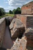 Ruinas del castillo, Venecia, Polonia Fotografía de archivo
