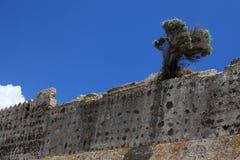 Ruinas del castillo veneciano imagen de archivo libre de regalías
