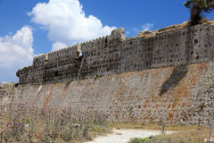 Ruinas del castillo veneciano fotografía de archivo libre de regalías