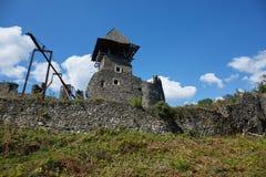 Ruinas del castl de Nevitsky Foto de archivo libre de regalías