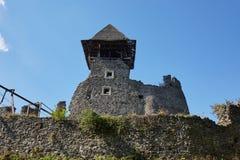 Ruinas del castl de Nevitsky Imágenes de archivo libres de regalías