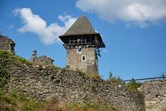 Ruinas del castl de Nevitsky Imagen de archivo libre de regalías