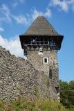 Ruinas del castl de Nevitsky Fotos de archivo libres de regalías