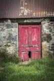 Ruinas del cercado en Aldivalloch en el Cabrach en Escocia Imágenes de archivo libres de regalías