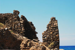 Ruinas del cielo foto de archivo