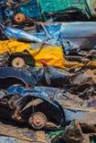 Ruinas del coche Fotografía de archivo libre de regalías
