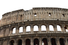 Ruinas del Colosseum en Roma, Italia Imagen de archivo