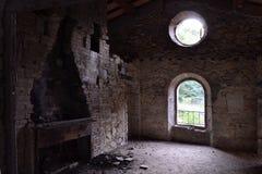 Ruinas del comedor Imágenes de archivo libres de regalías