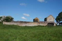 Ruinas del cortijo Imagen de archivo