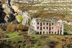 Ruinas del edificio imagen de archivo