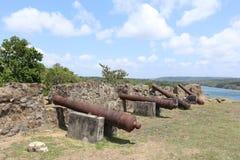 Ruinas del español del fuerte de San Lorenzo Foto de archivo