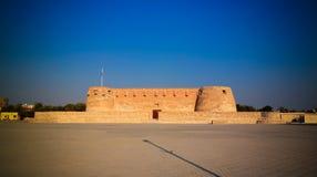Ruinas del fuerte de Arad, Muharraq, Bahrein foto de archivo