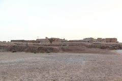 Ruinas del fuerte de Bahrein, Manama - Bahrein Fotografía de archivo libre de regalías
