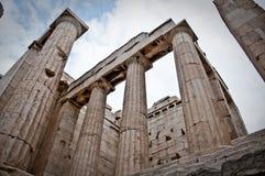 Ruinas del Griego Fotografía de archivo