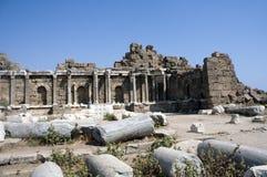 Ruinas del Griego fotografía de archivo libre de regalías