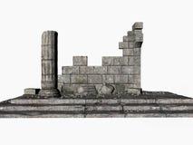 Ruinas del Griego Imágenes de archivo libres de regalías