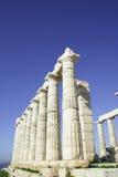 Ruinas del Griego Fotos de archivo
