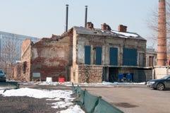 Ruinas del hogar fotografía de archivo