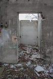 Ruinas del hospital Imágenes de archivo libres de regalías
