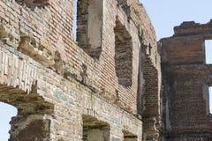 Ruinas del ladrillo antiguo Fotografía de archivo libre de regalías