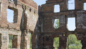 Ruinas del ladrillo antiguo Imagenes de archivo